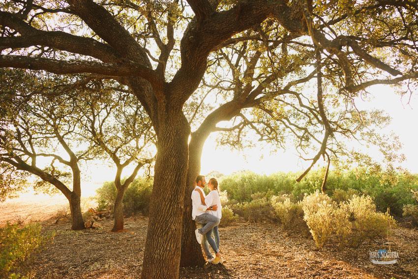 Pre boda en la naturaleza